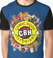 Comic Book Historians A Rich Tapestry Graphic T-Shirt