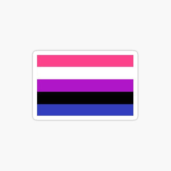 Gender fluid pride Sticker