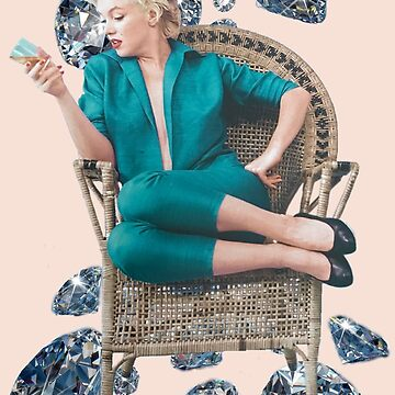 Marilyn Monroe diamonds by tdelafont