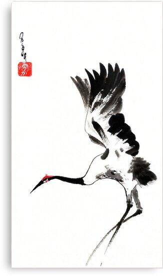 Landing Crane by Origa