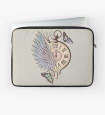 Le Temps Passe Vite (Time Flies) Laptop Sleeve