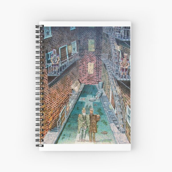 The Three Witnesses Spiral Notebook