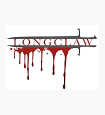 Longclaw Photographic Print