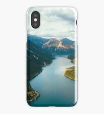Stunning alpine lake, Plansee, Austria iPhone Case