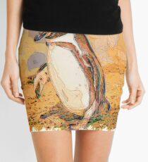 Nature drawn Art Mini Skirt
