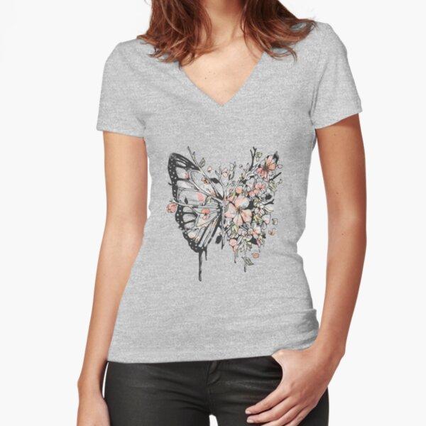 Metamorphora Fitted V-Neck T-Shirt