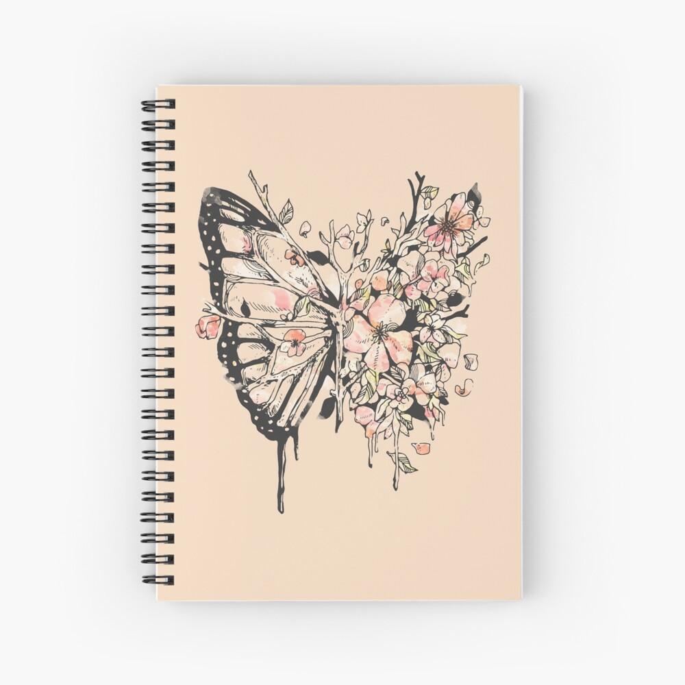 Metamorphora Spiral Notebook