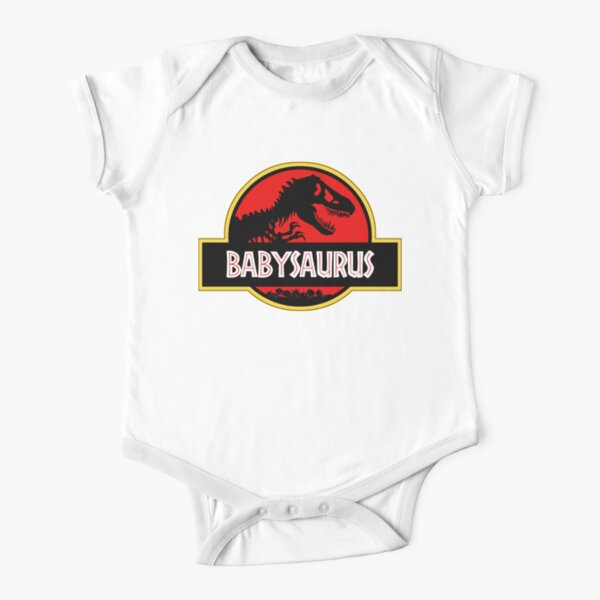 Babysaurus Short Sleeve Baby One-Piece