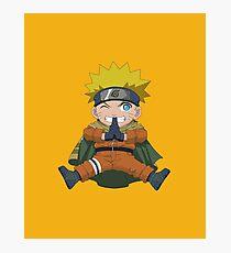 Chibi Naruto Photographic Print