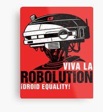 Viva la Robolution Metal Print