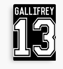 GALLIFREY TIME LORDS Canvas Print