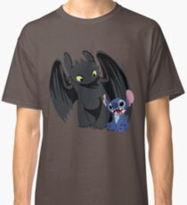 Stitch and Toothless Classic T-Shirt