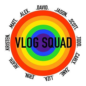 vlog squad-rainbow by rubyoakley