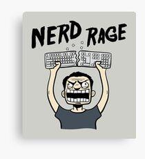 Nerd Rage Canvas Print