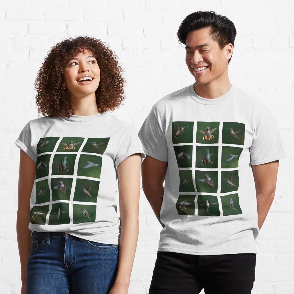 Humming Bird Montage Classic T-Shirt