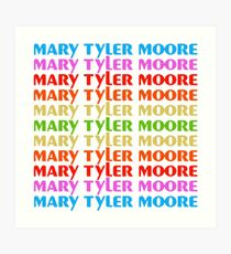 Mary Tyler Moore Tv Show Art Print