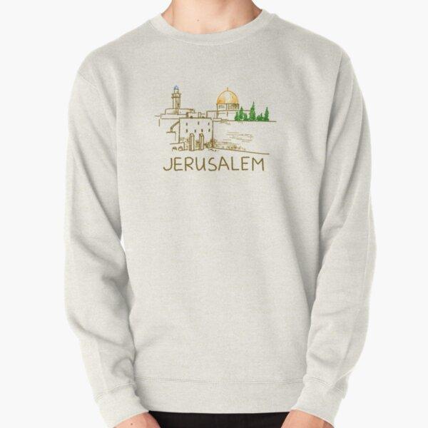 Jerusalem Israel Pullover Sweatshirt