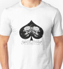 Ace of Spades Skull Tee Slim Fit T-Shirt