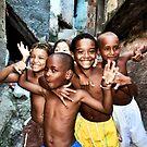 Rocinha, Rio de Janeiro 2008 by Tash  Menon