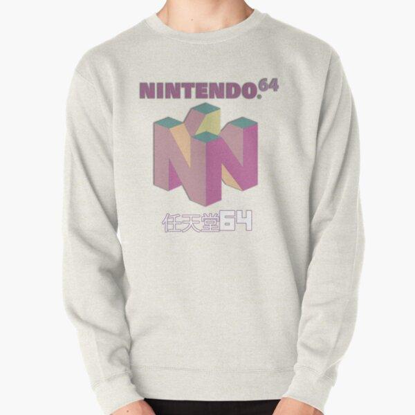Nintendo 64 pastel/ vintage logo Pullover Sweatshirt