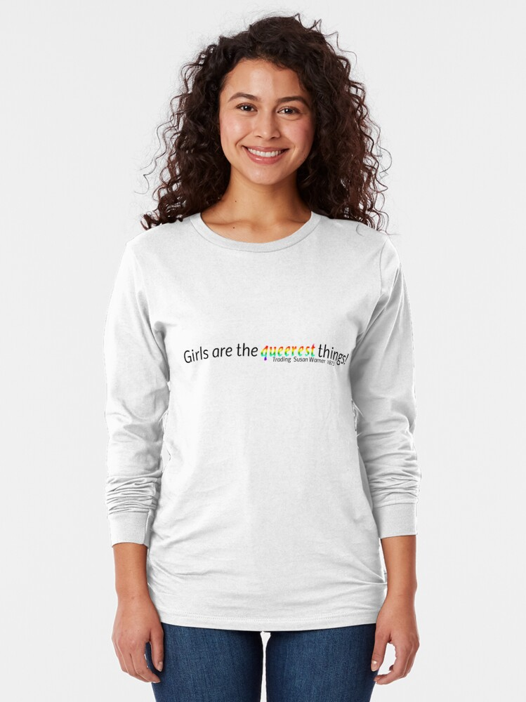 Alternate view of Queerest Girls Long Sleeve T-Shirt