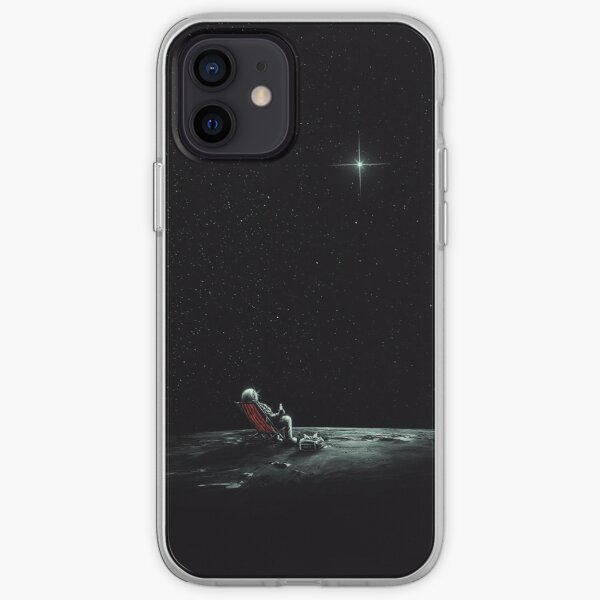 Space Chill iPhone Soft Case