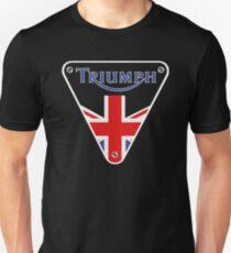 Triumph Motorrad Großbritannien Symbol Unisex T-Shirt