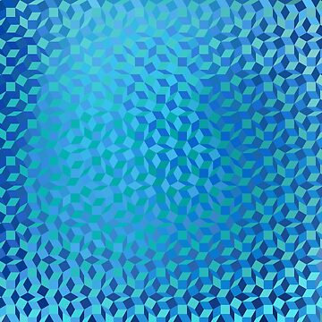 Blue Water Mosaic by Girih