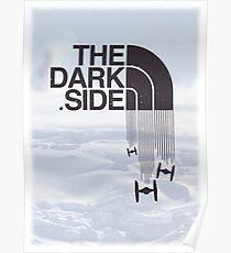 Die dunkle Seite - Tie Fighter Logo Hoth Version Poster