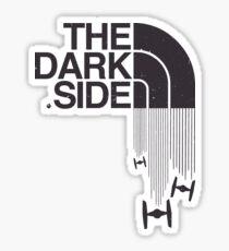 The Dark Side - Tie Fighter Logo Hoth Version Sticker