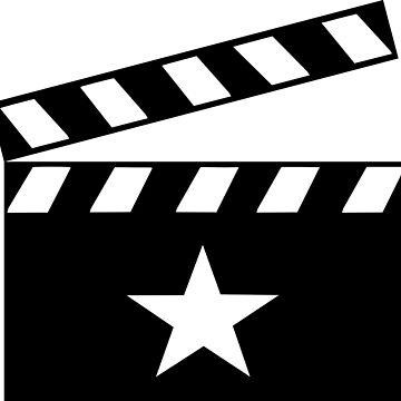 Movie Star Clapper Board by sweetsixty