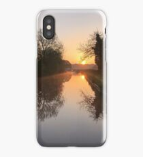 Sunrise on the Worcester & Birmingham Canal iPhone Case