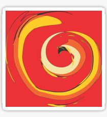 Crazy Spiral by FreddiJr Sticker