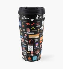 The Office US Montage Travel Mug