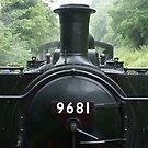 9681 Pannier Tank Engine by David Meacham