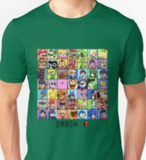 Super Smash Bros. 4 Roster T-Shirt