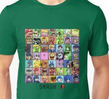 Super Smash Bros. 4 Roster Unisex T-Shirt