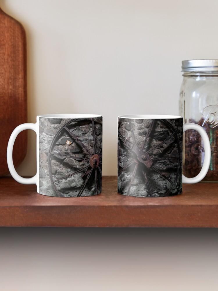 Alternate view of Wheels Mug
