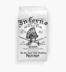 Inferno Rum Duvet Cover