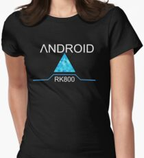 Android RK800 Connor Design Women's Fitted T-Shirt