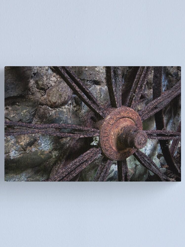 Alternate view of Wheel Canvas Print