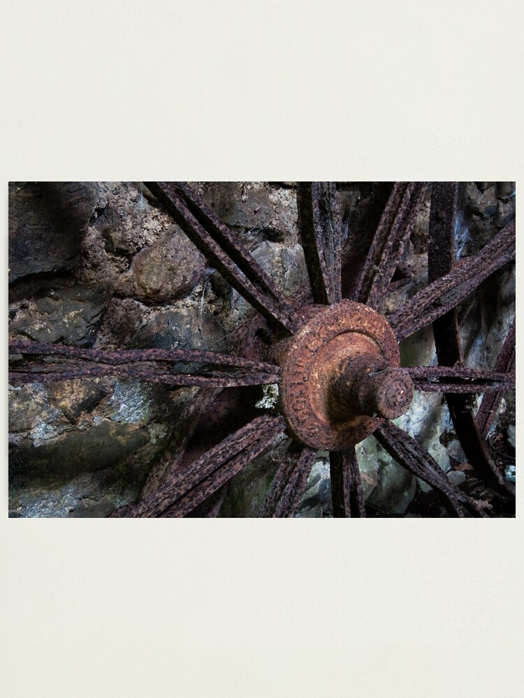 Alternate view of Wheel Photographic Print