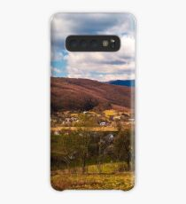 mountainous countryside in springtime Case/Skin for Samsung Galaxy