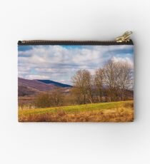 orchard in mountainous rural area Studio Pouch