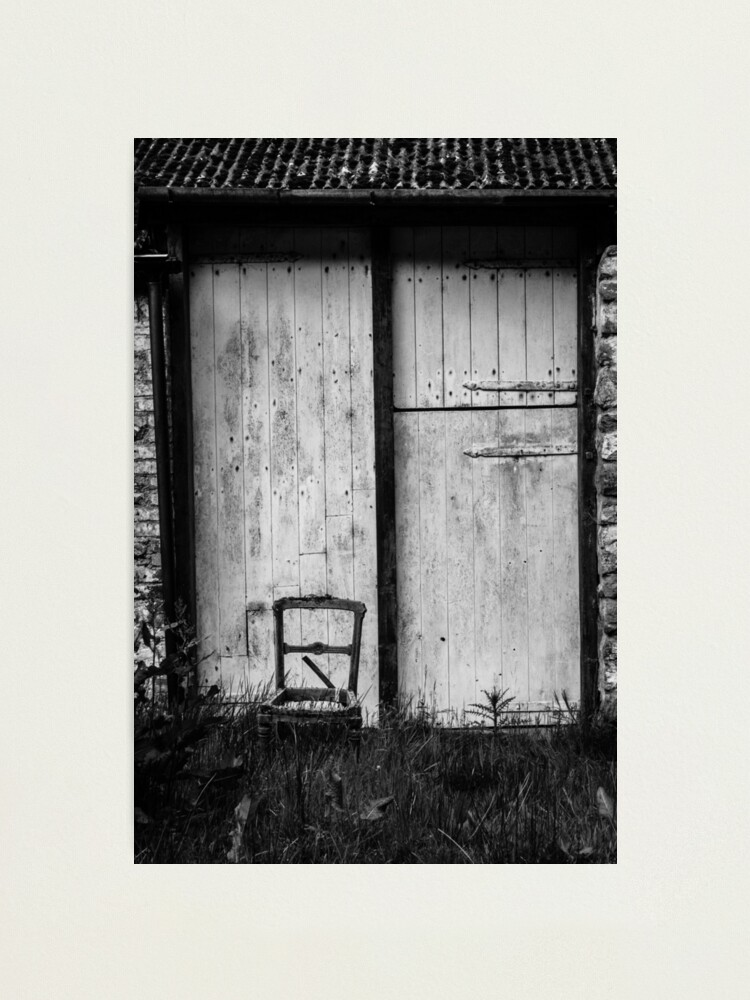 Alternate view of Chair Photographic Print