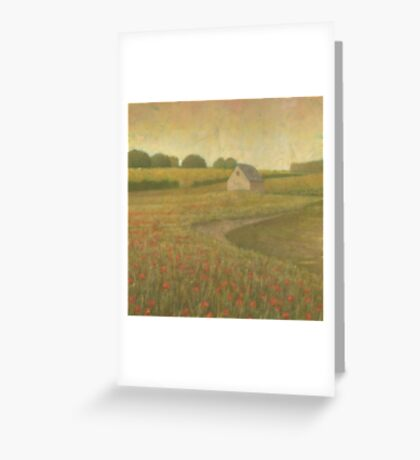 Lakeside Meadow Greeting Card