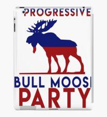 Bull Moose Party Progressive Teddy Roosevelt iPad Case/Skin
