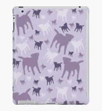 Border Terriers Gifts for Dog Lovers Shades of Lilac Silhouette iPad Case/Skin