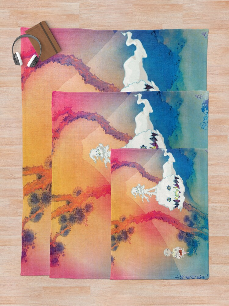Alternate view of KIDS SEE GHOSTS Throw Blanket