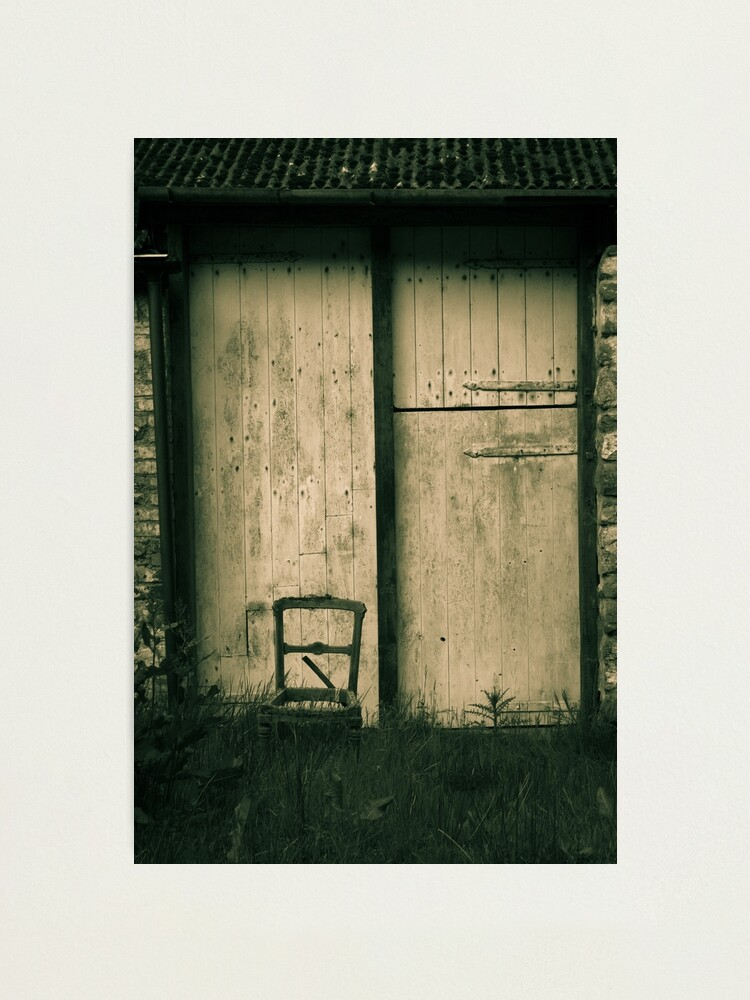 Alternate view of Chair II Photographic Print